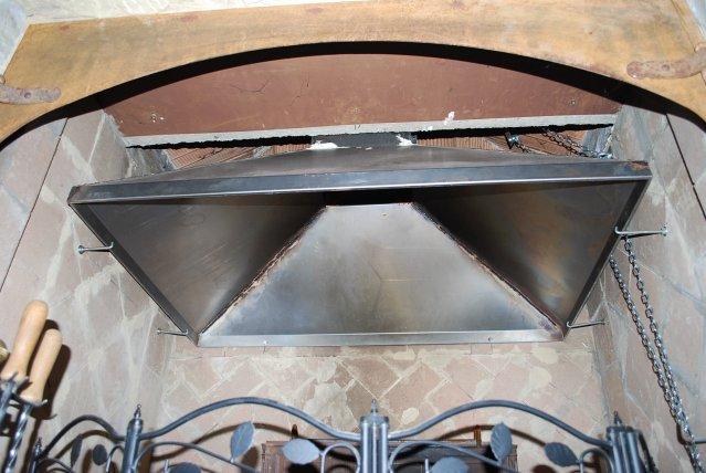Cappa metallica per camino condizionatore manuale - Deumidificatore a parete prezzi ...